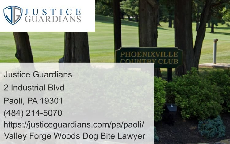 valley forge woods dog bite lawyer near phoenixville country club